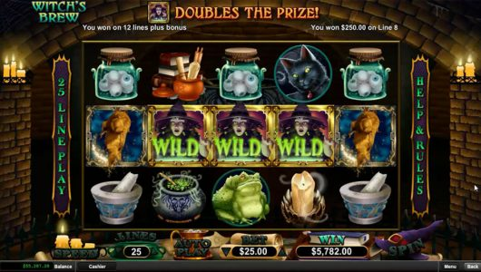 Witches Brew slot