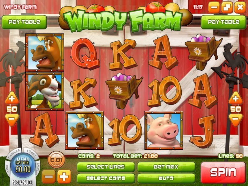 Windy Farm Rival Slots Review
