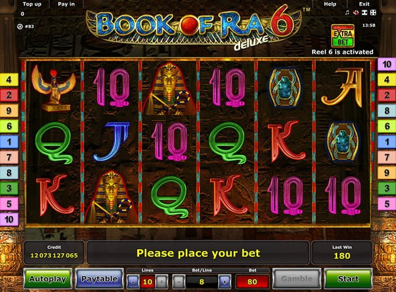 free online slots games book of ra bonus