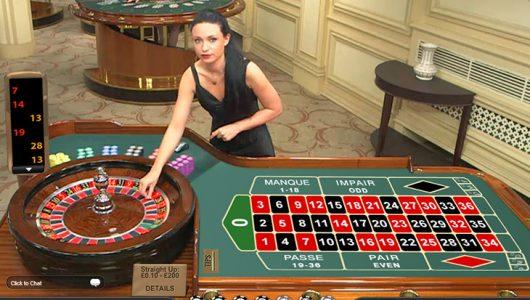 live dealer casino roulette
