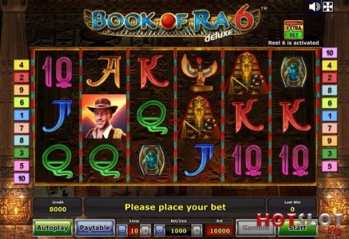 book of ra high limit slot