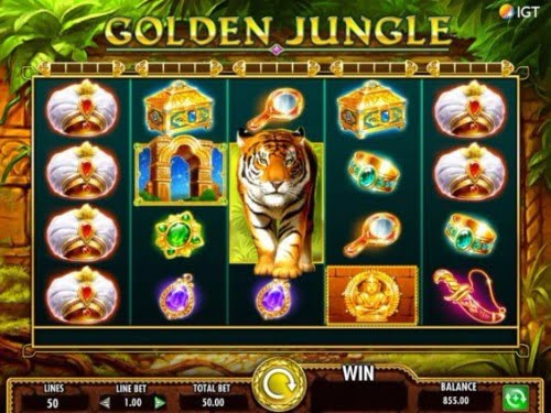 golden jungle high roller slot