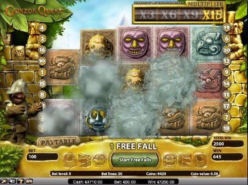 gonzo quest high max bet slot