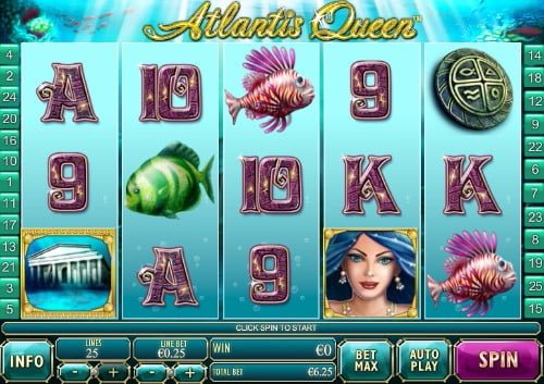 atlantis queen high limit slot