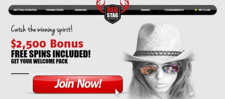 red stag casino bonuses