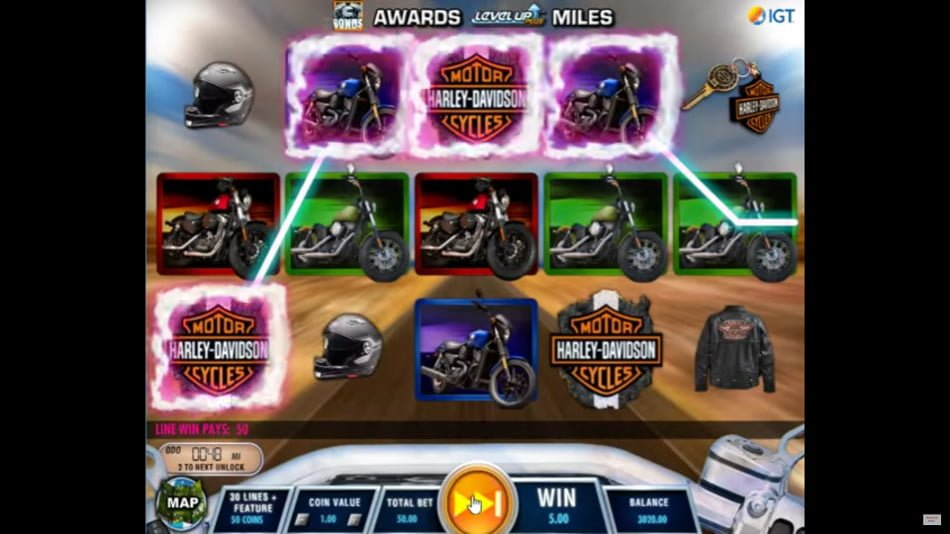 Harley Davidson Freedom Tour IGT Slot Review