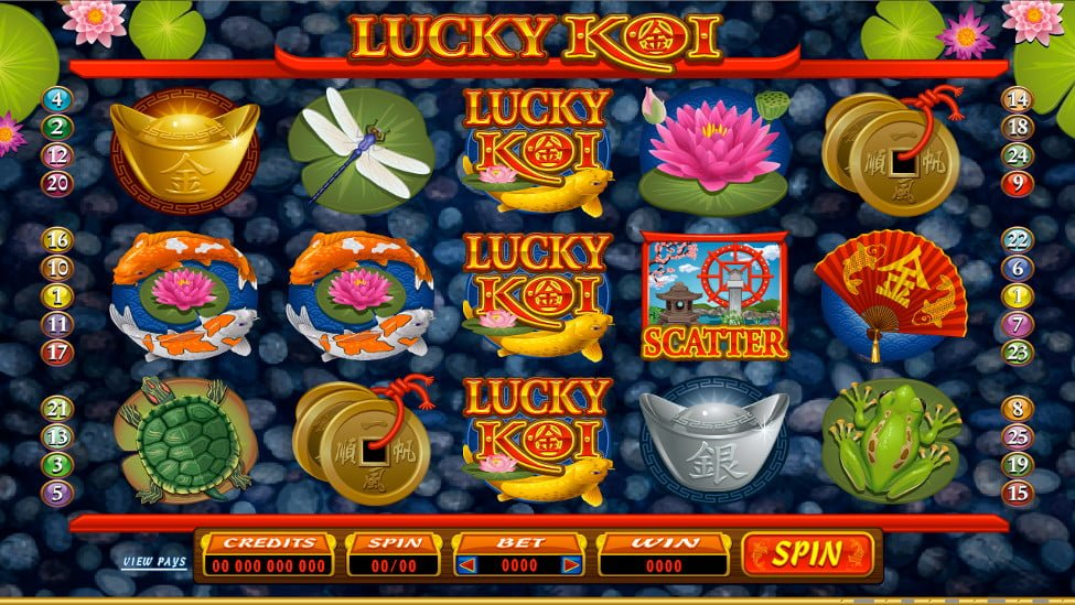 lucky koi slot microgaming