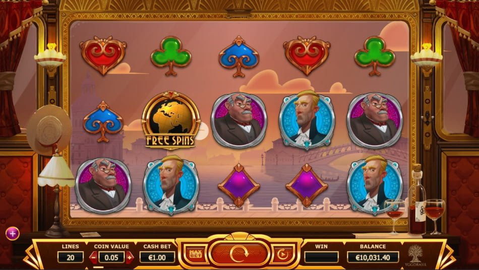 orient express yggdrasil slot