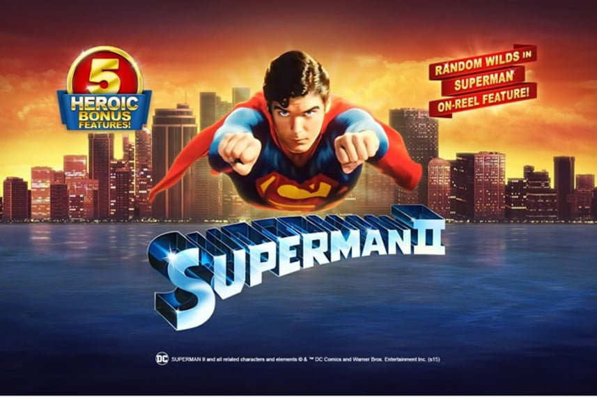 Superman II Slots Review & Free Online Demo Game
