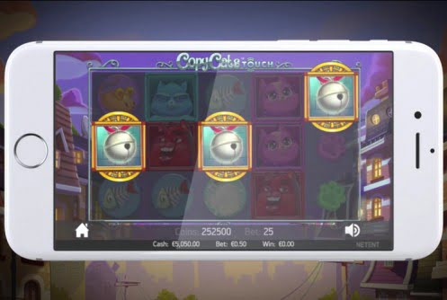 copy cats mobile slot