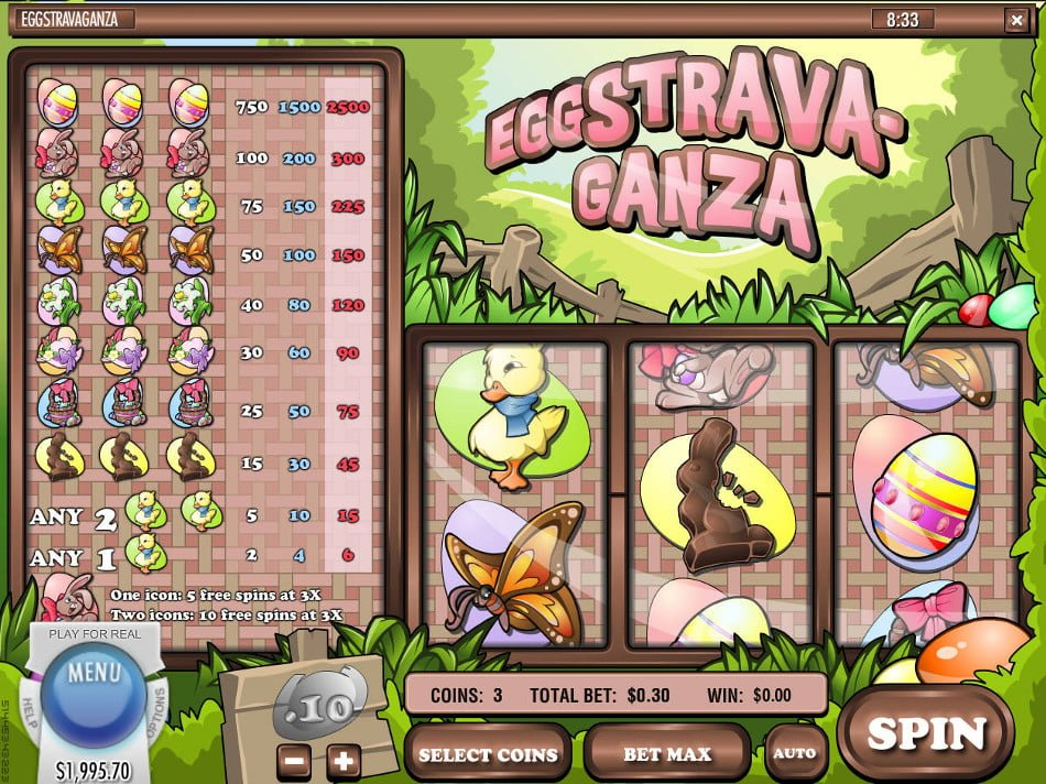 eggstravaganza slot