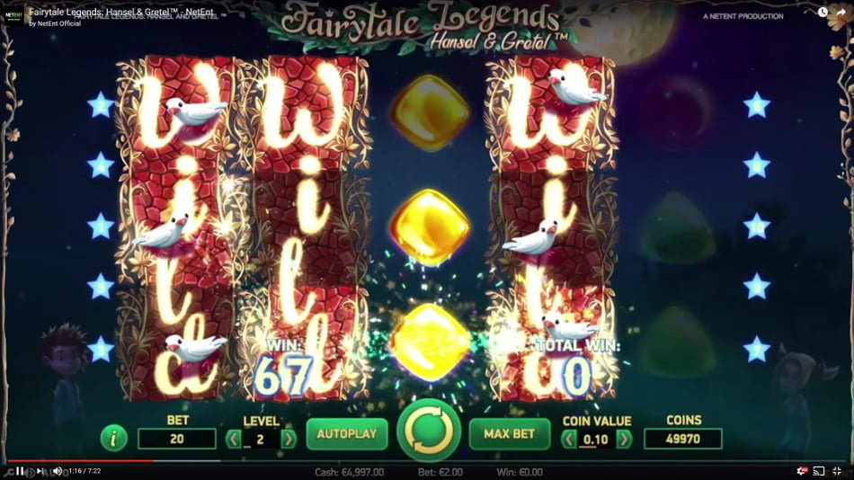 Fairytale Legends: Hansel and Gretel at Casino.com NZ
