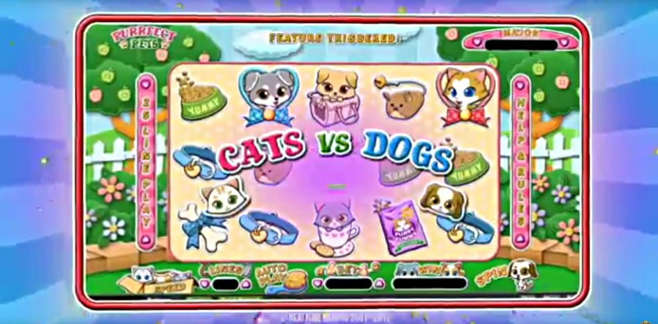 Purrfect Pets Slots - Win Big Playing Online Casino Games