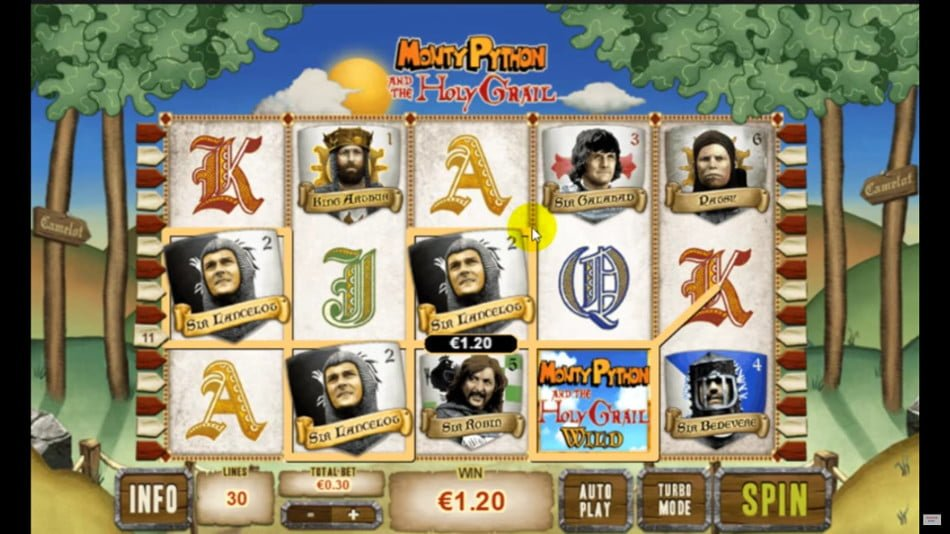 Play Monty Python and the Holy Grail Online Slots at Casino.com Canada