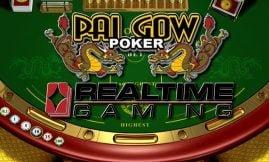 pai gow poker realtime gaming