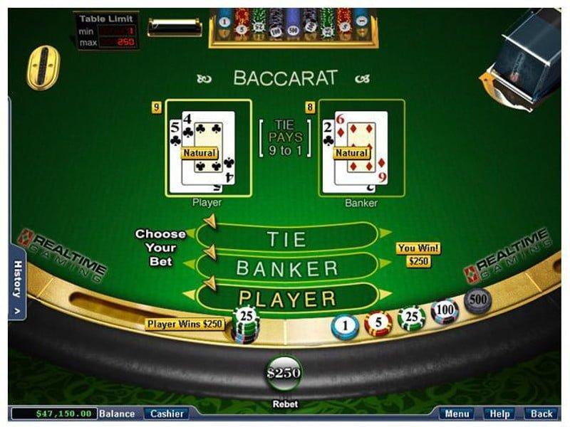 rtg casino baccarat