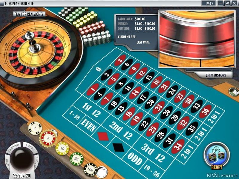 Roulette Online By Rival