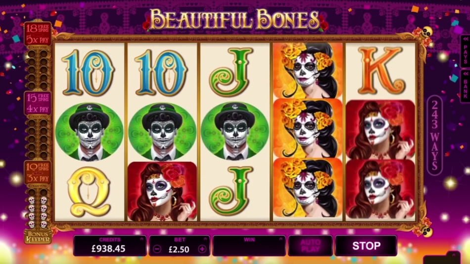 Beautiful Bones Slot - Read the Review and Play for Free