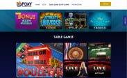 foxy casino home