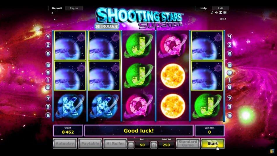 Shooting Stars Slots