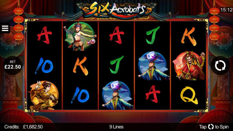 Six Acrobats | Euro Palace Casino Blog