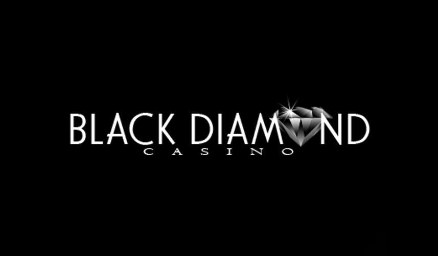 black diamons casino logo