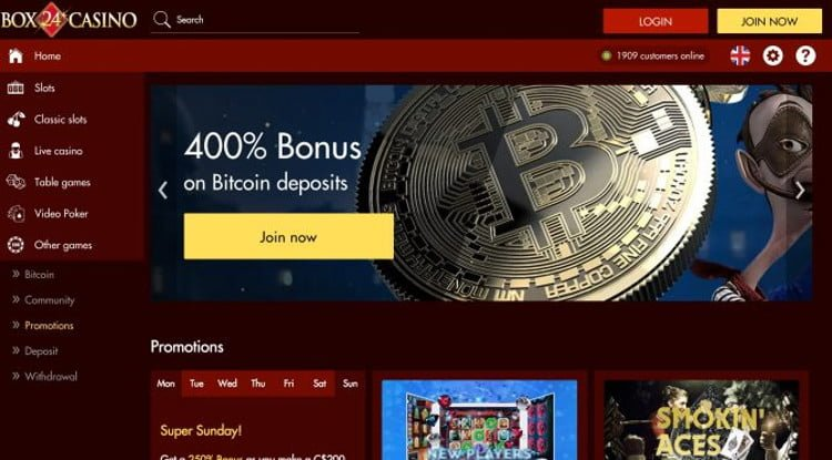 Online casino free spin sign up