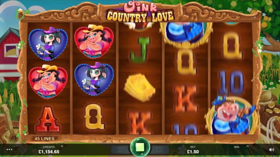 oink country love slot