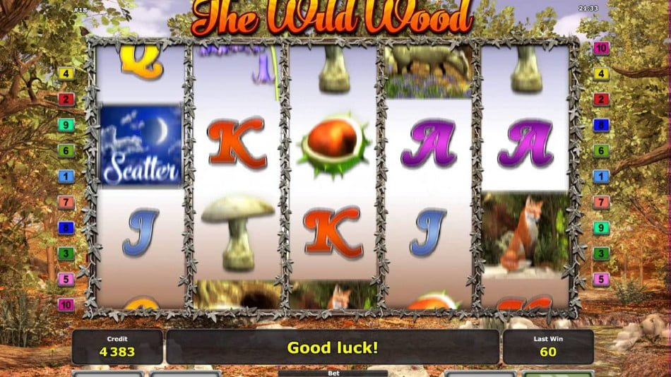 the wild wood slot