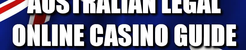 legal online casinos australia