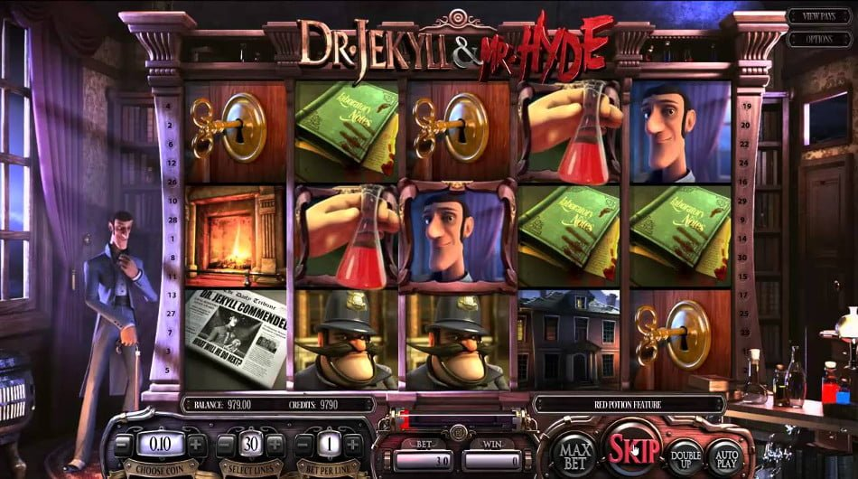 dr jekyll mr hyde slot