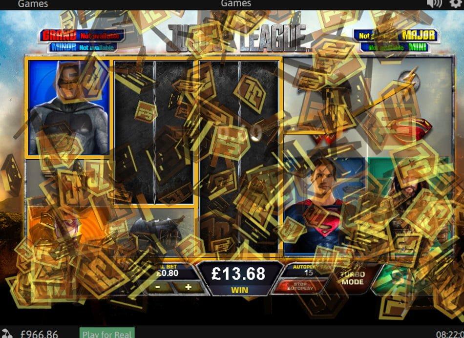 The Justice League - Rizk Casino