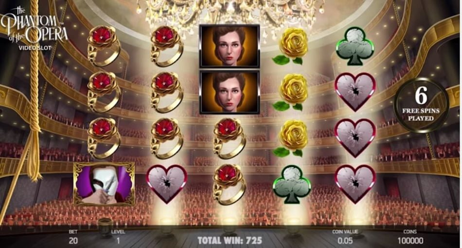 phantom of opera slot itps
