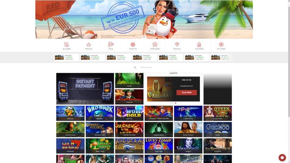 redpingwin casino slots