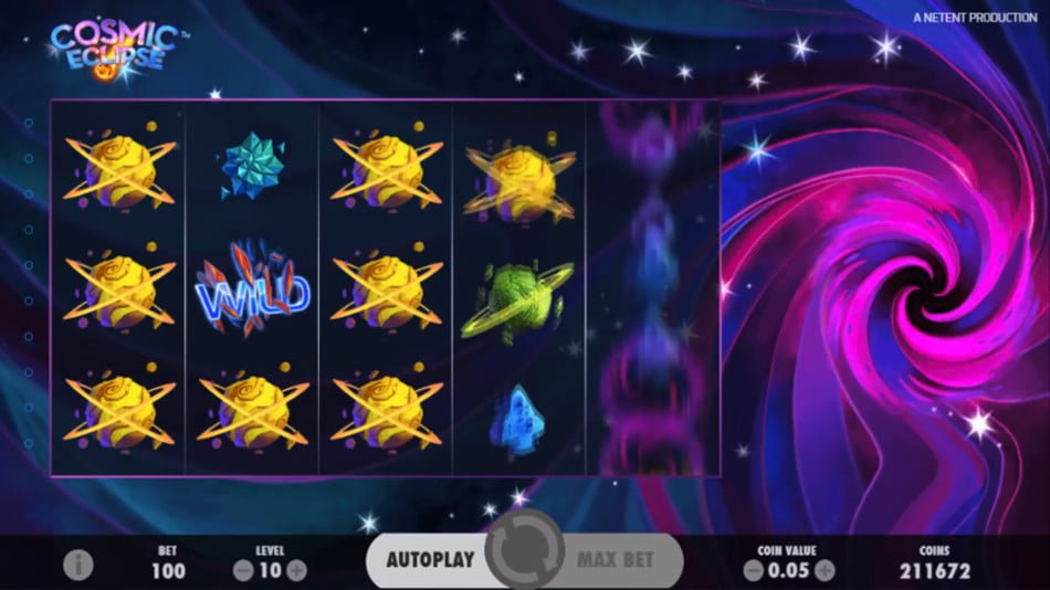 cosmic eclipse slot by netent