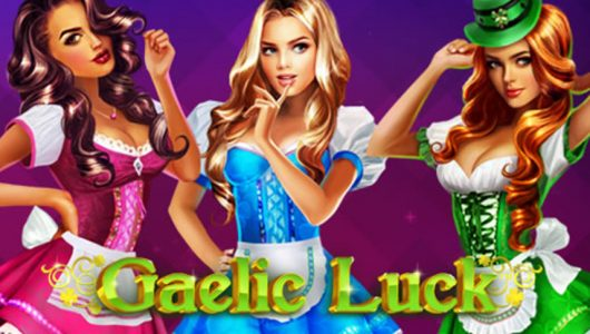 gaelic luck video slot by playtech