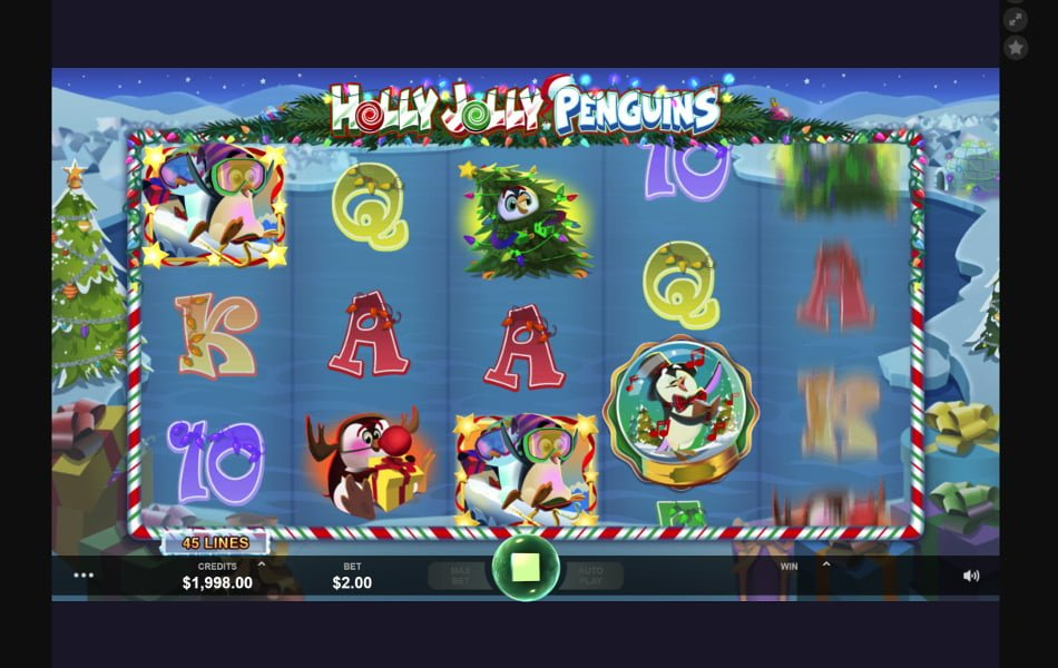 holly holly penguins slot