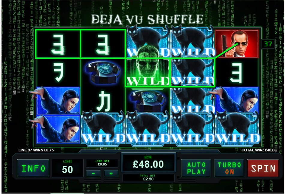 the matrix wilds slot