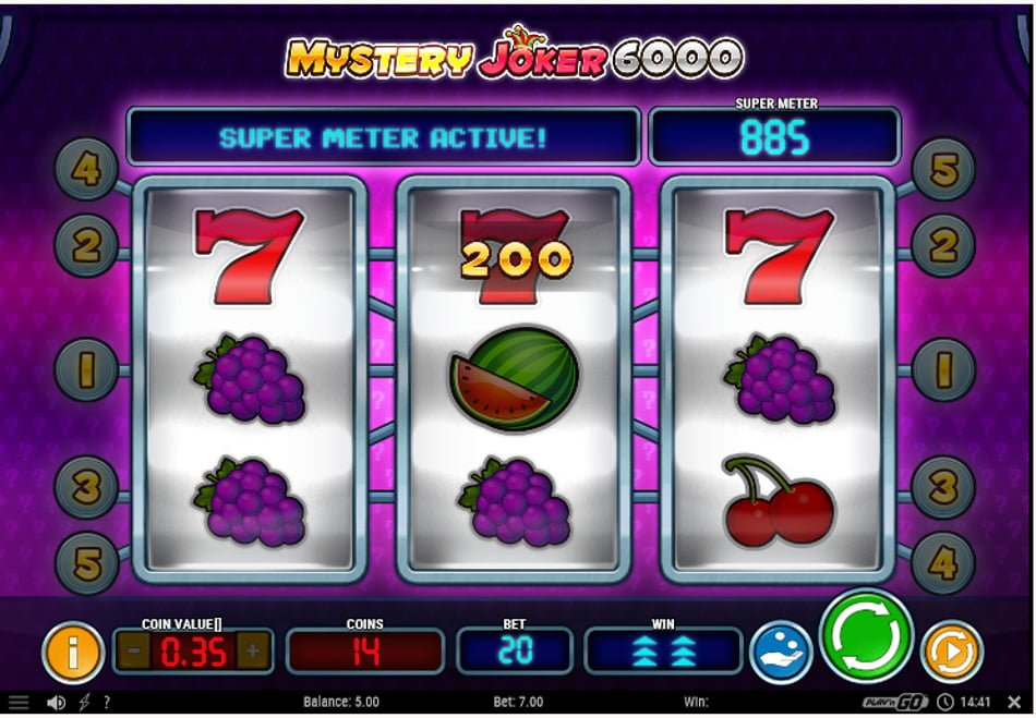 mystery joker 6000 play n go slot in action