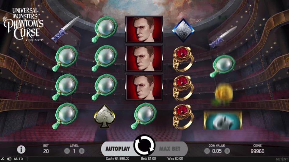 universal monsters phantom curse slot