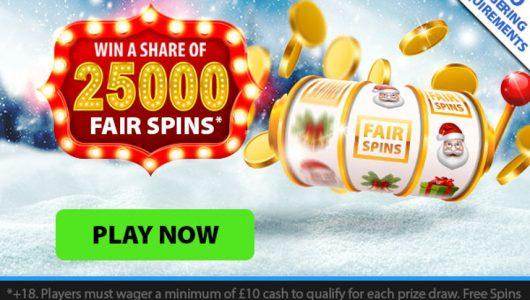 xmas casino bonus