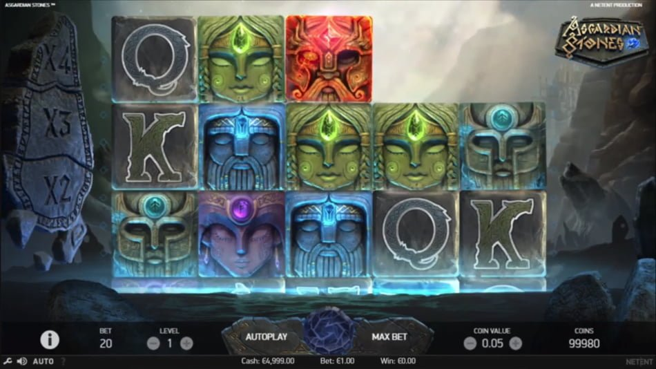 asgardian stones slot by netent