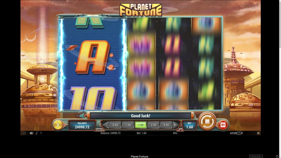 planet fortune slot by play n go