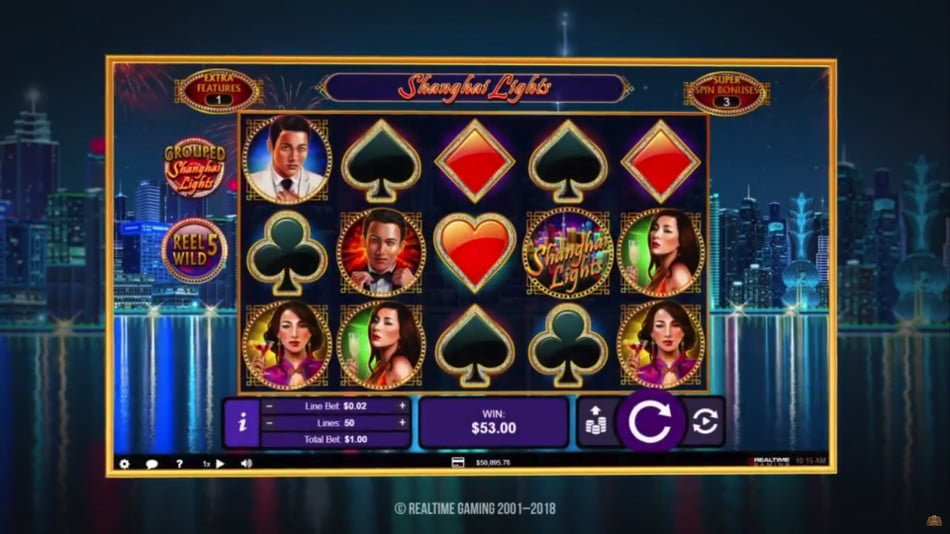 shanghai lights rtg slot