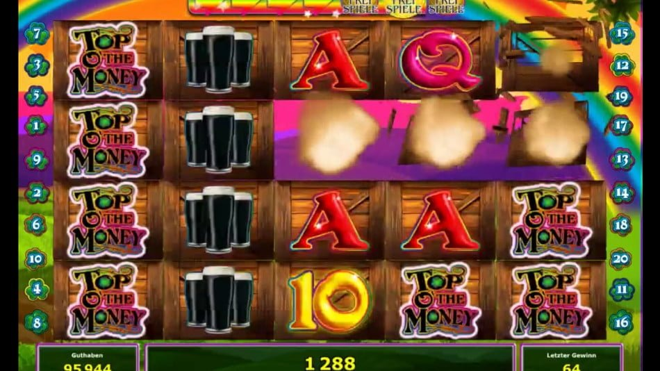 top o money slot by novomatic