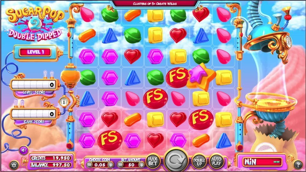 sugar pop 2 double dipped slot by betsoft