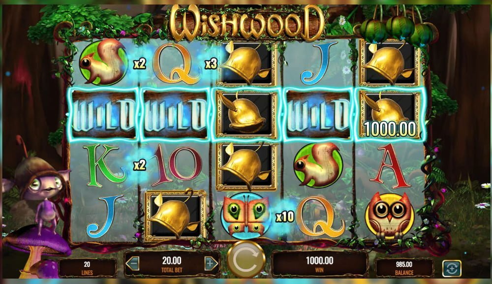 wishwood slot by IGT
