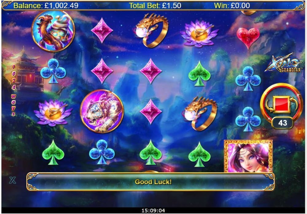 xing guardian slot by nextgen gaming