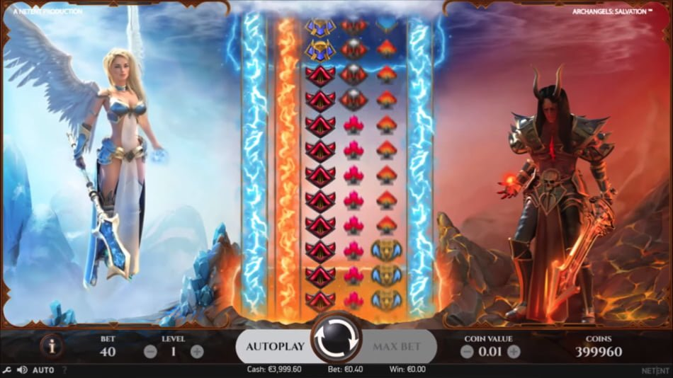 archangels salvation slot by netent