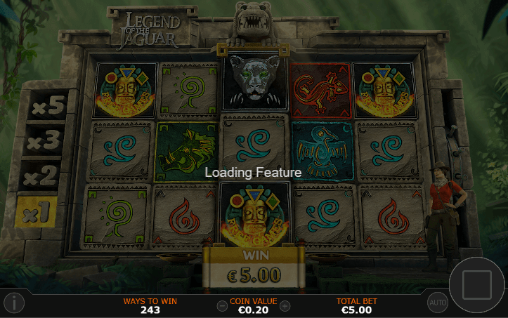 legend of jaguar slot by playtech
